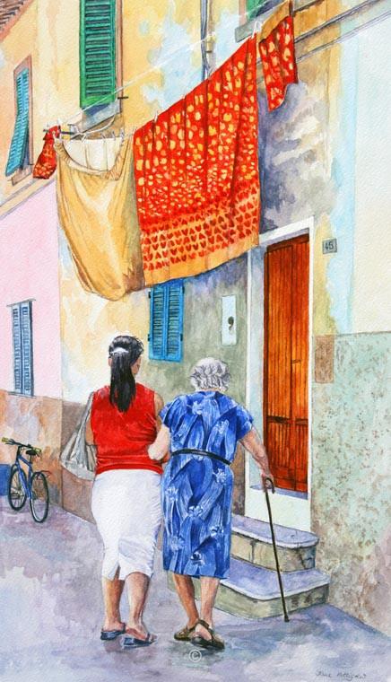 Nearly at the Door, Portoferraio. - Italia