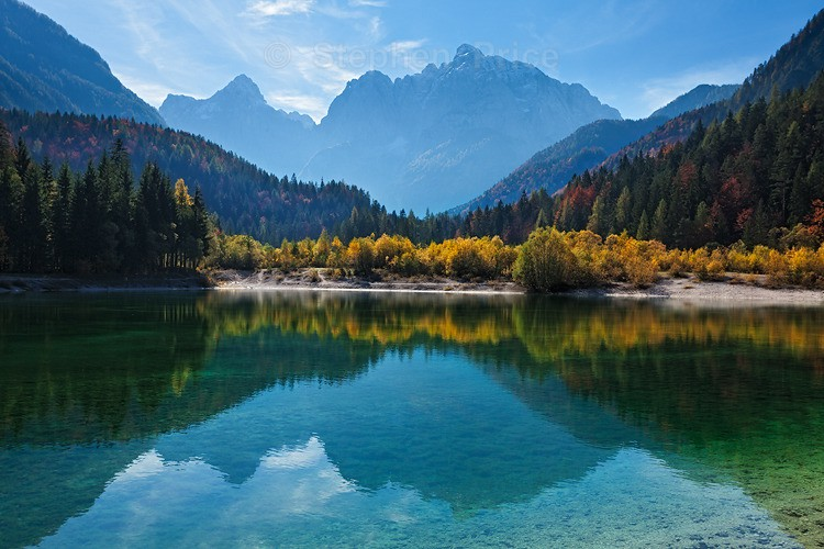 Slovenian Reflections | Slovenia Photography in Autumn