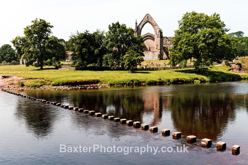 Abbey By The River - Brimham Rocks and  Bolton Abbey