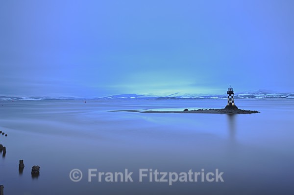 Perch lighthouse, River Clyde, Port Glasgow, Scotland - Scottish scenics