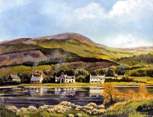 'St Fillans, Perthshire' - Landscapes
