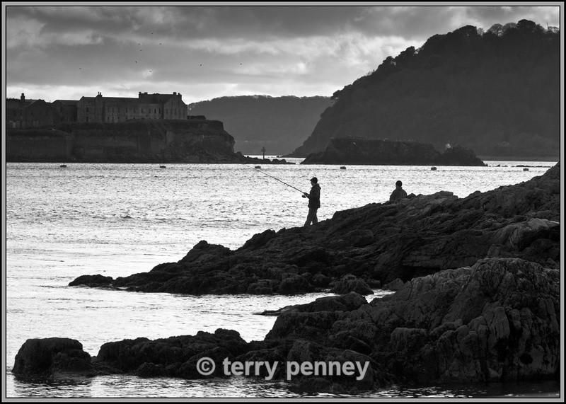Plymouth Hoe Fishing - Devon