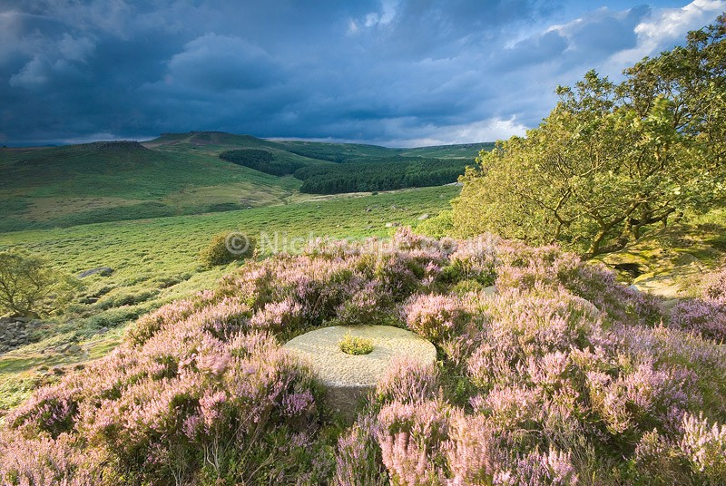 Abandoned Millstones of Burbage Edge | Peak District National Park