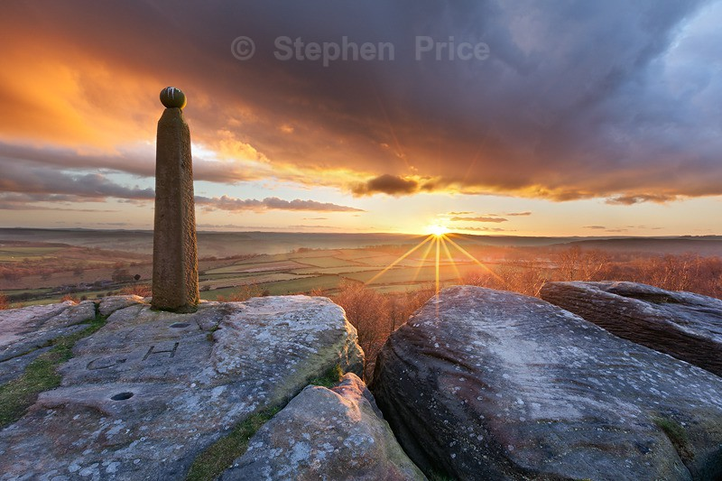 Peak District Photo Location | Birchen Edge | Derbyshire | Sunset