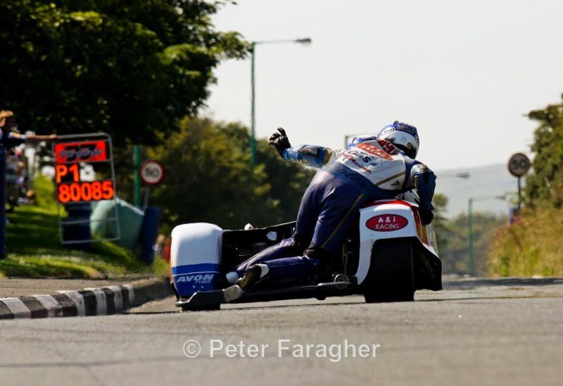 Klaffi and Dan Sayle - Southern 100 Road Races