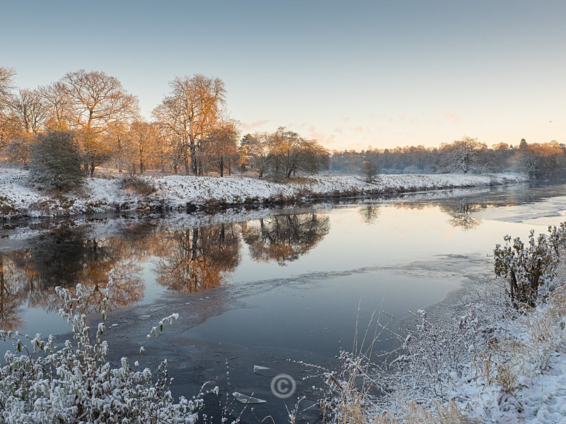 Winter on the Tees - YARM-on-Tees, Cleveland