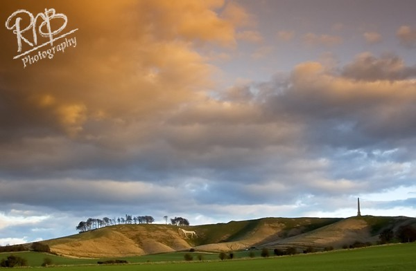 Evening Light - Cherhill - Wiltshire & West Country Landscapes