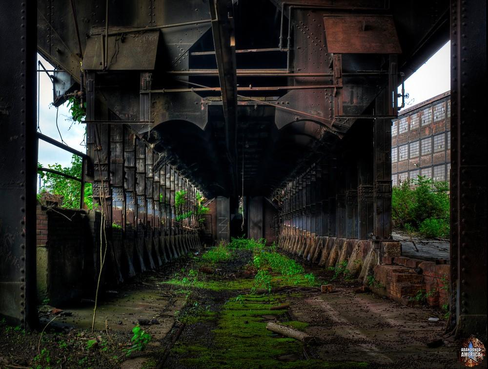 Bethlehem Steel (Bethlehem, PA) | Ore and Coke Bins - Bethlehem Steel