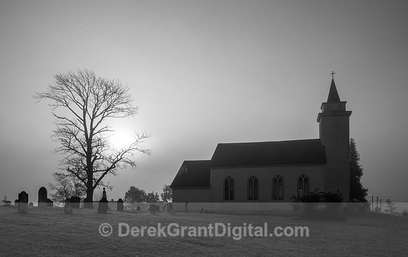 Trinity Church Springfield Kings County New Brunswick Canada - Churches of New Brunswick