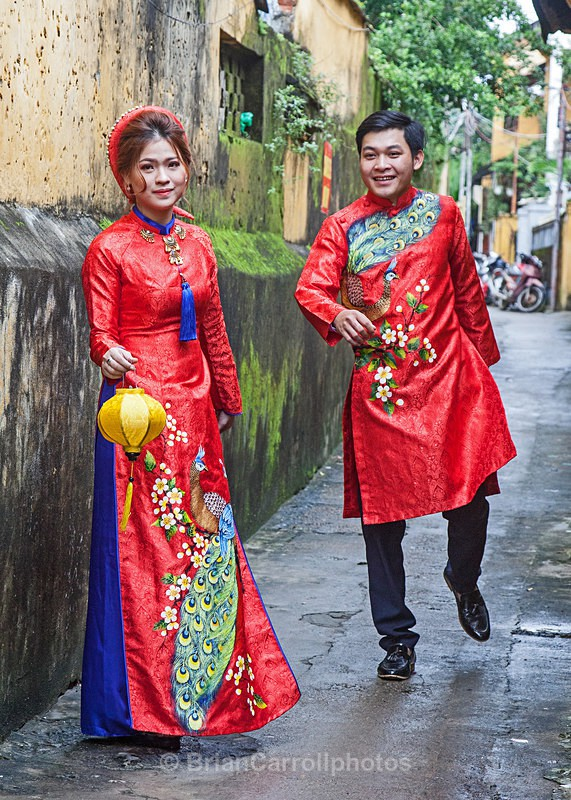 IMG_5994 Couple in Traditional Wedding Costume, Hoi An, Vietnam - Vietnam