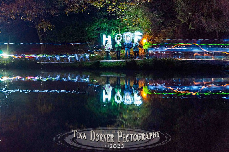 HOOF 'Ring of Light' Procession. Photo 2 - HOOF Prints