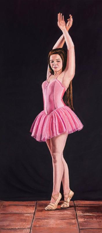 Sarah - Ballerina - Children's Portraits