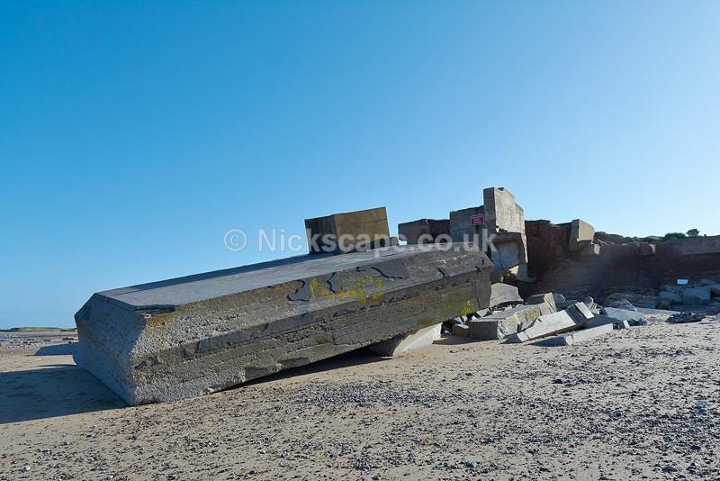 Godwin Sands Battery - WW2 Defences near Kilnsea Spurn Head - Yorkshire