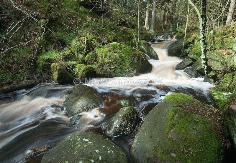 Waterfalls at Wyming Brook Nature Reserve | Sheffield City Rural Photography