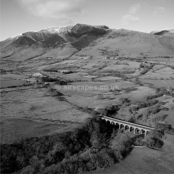 Mosedale Viaduct & Blencathra - Blencathra/The Saddleback, Cumbria