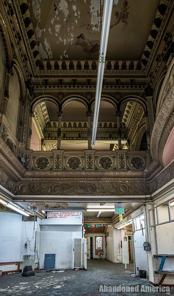 First and Second Levels at The Westlake Theatre, Los Angeles, CA | Abandoned America