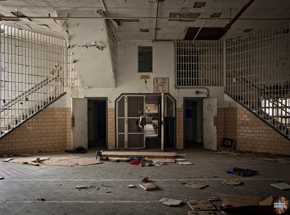 Essex County Jail Annex (Caldwell, NJ) | Cafeteria Entrance - Essex County Jail Annex