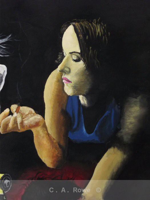 Juliette Lewis - Detail from 'Girls on Film' - Detail