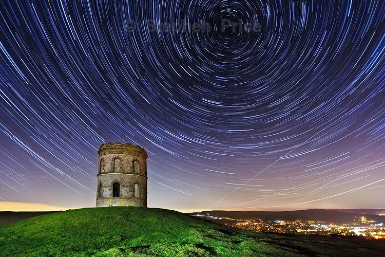 Peak District Star Trails | Stars in Night Sky | Buxton Derbyshire