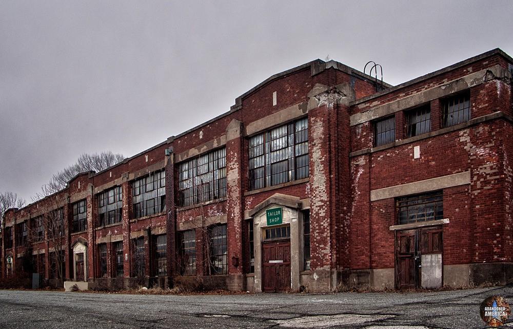 Overbrook Asylum (Cedar Grove, NJ) | Tailor Shop - The Essex County Hospital Center
