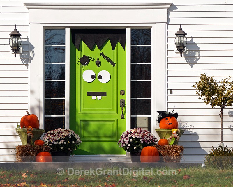 Animated Door - Halloween Decorations Autumn Festival - Autumn Festival