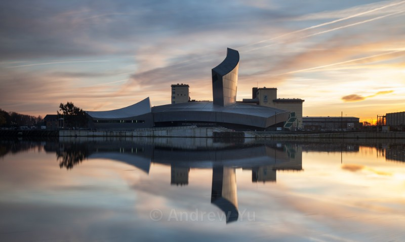 Imperial War Museum Sunset - Urban Landscape Photography