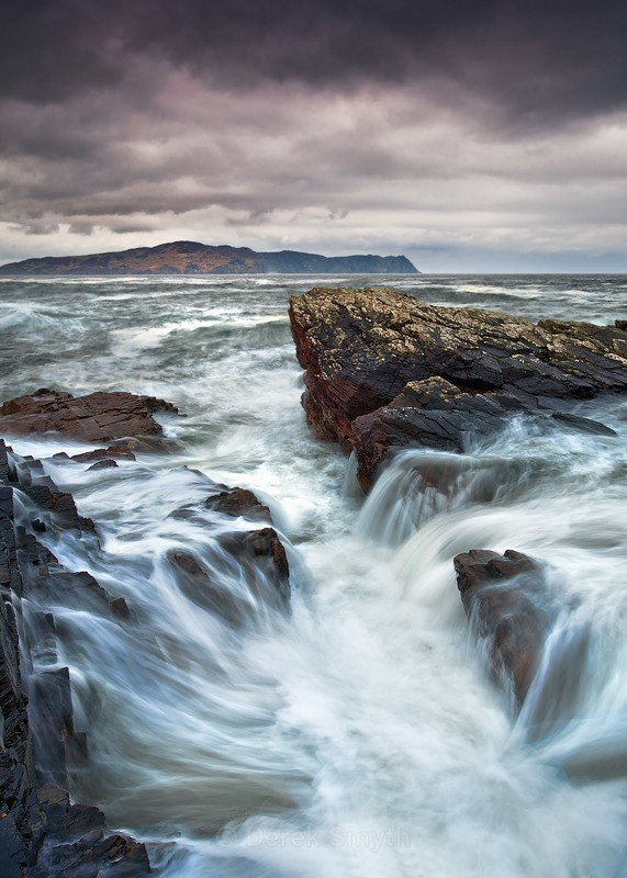 Stormy Sea at the Rosguill Peninsula