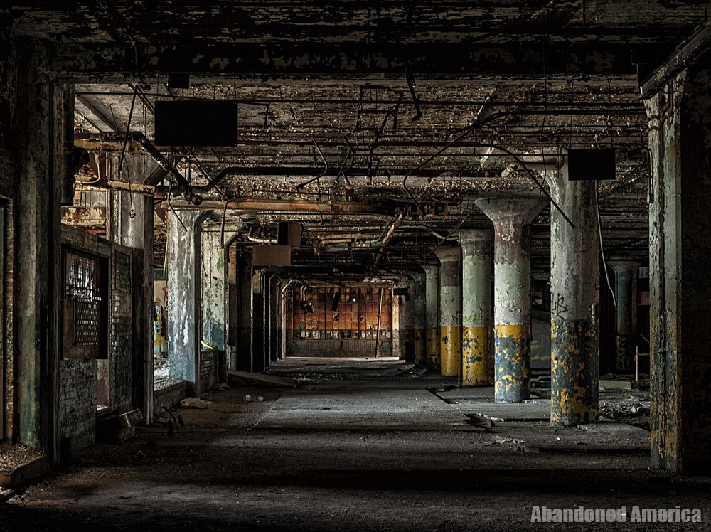 Fisher Body Plant 21 (Detroit, PA) | Pools of Light - Fisher Body Plant 21