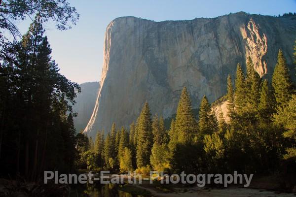 El Capitan From Cathedral 2 - Yosemite