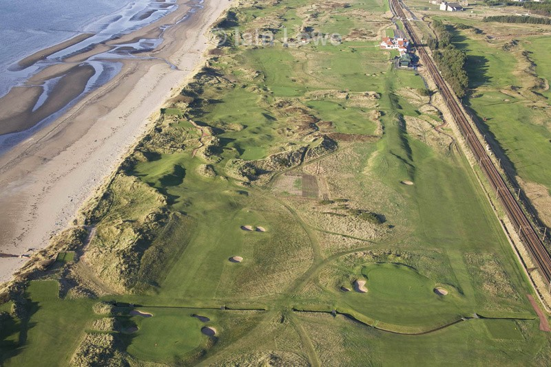 Western Gailes - Scottish Links Aerial Images