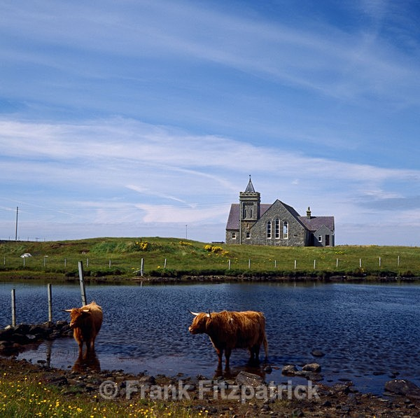 Paible church, Paible, North Uist, Outer Hebrides. - North Uist