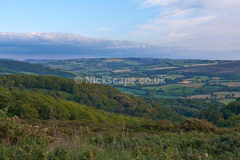 Exmoor Landscape Evening Light - Exmoor