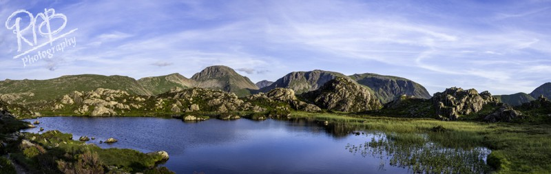 View From Haystacks - Panoramic Images