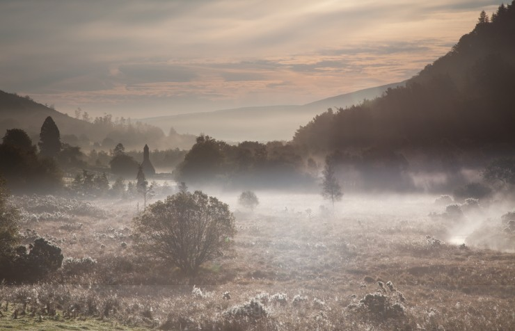 Wicklow Mist - Landscapes of Ireland - Glendalough and the Wicklow Mountains