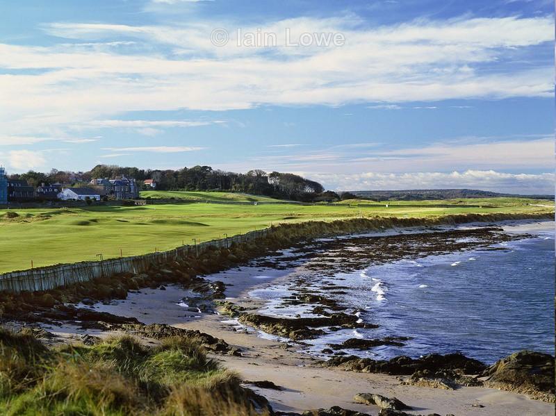 2nd tee to green - North Berwick Golf Links