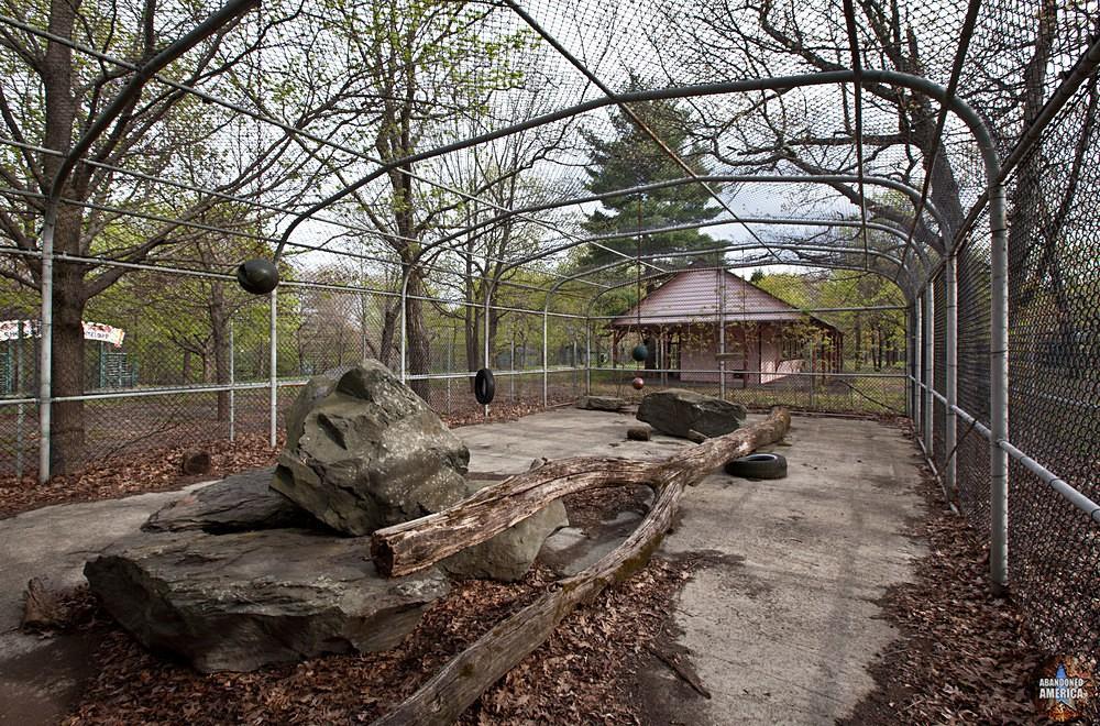 Catskill Game Farm (Catskill, NY) | Lower Feeding Ground Pen - Catskill Game Farm
