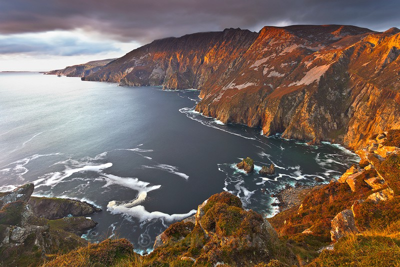 Sunset At Slieve League Cliffs - Wild Atlantic Way