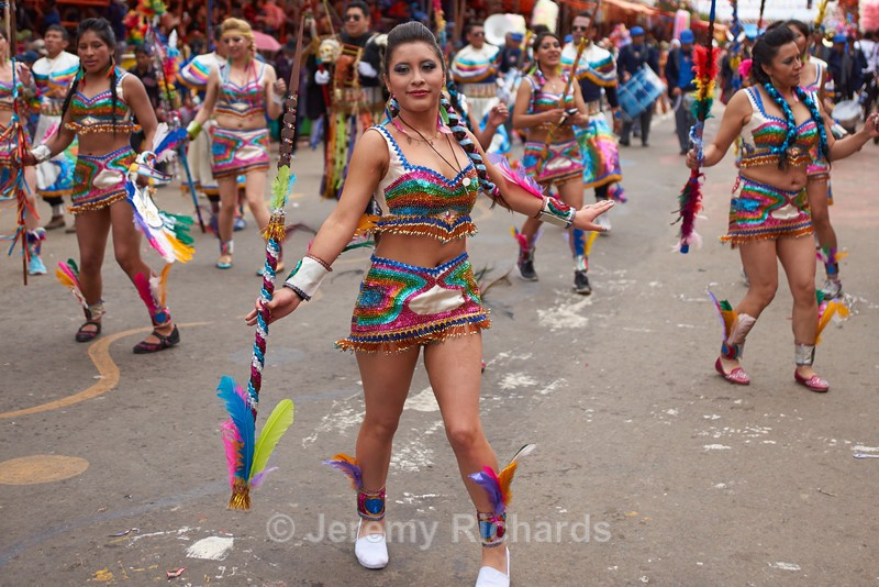 Tobas Dance Group - Oruro Carnival 2017