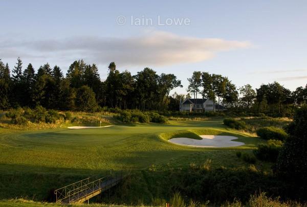 Gleneagles PGA Course 11th approach - Gleneagles PGA Course - 2014 Ryder Cup host course