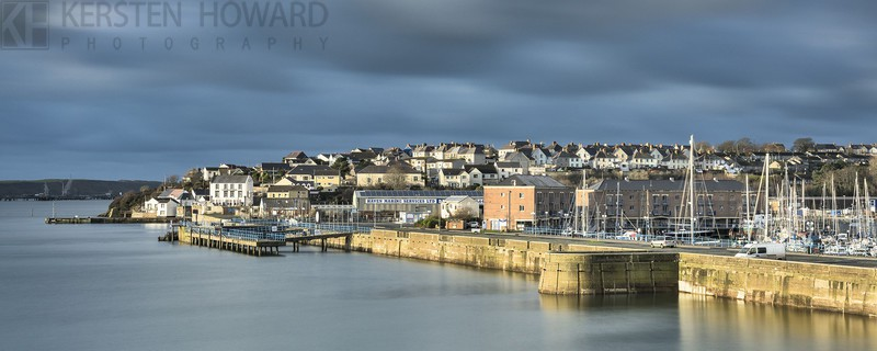 Sunlit Harbour - Milford Haven - Images from book
