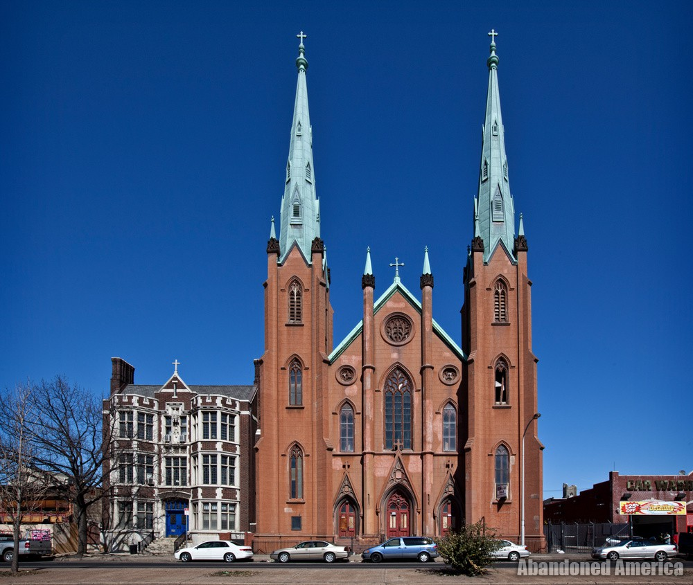 Assumption BVM Church (Philadelphia, PA) | Street View Exterior - Assumption of the Blessed Virgin Mary