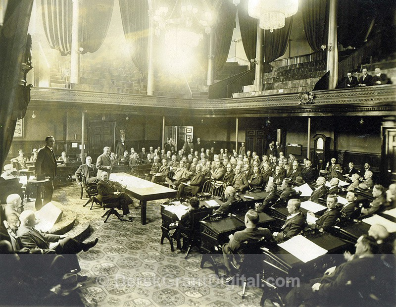 Salmon & Trout Angling Leases NB Legislative Assembly Chamber 04/07/32 - Historic New Brunswick
