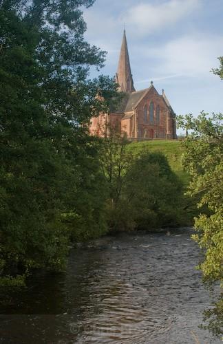 Penpont Church - Traditional Landscapes