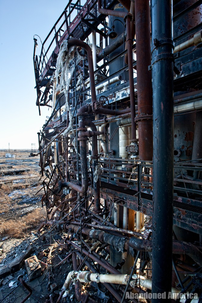 Bethlehem Steel, Lackawanna NY - Photographs by Matthew Christopher Murray of Abandoned America