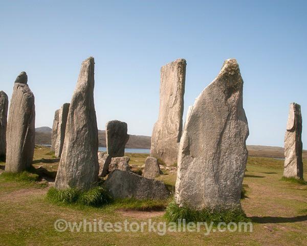 Calanais Standing Stones, Lewis - Scottish Highlands