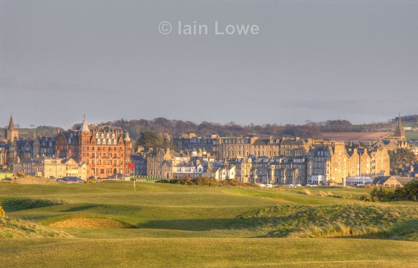 The Old Course 13th approach13th HDR - H D R Images various courses