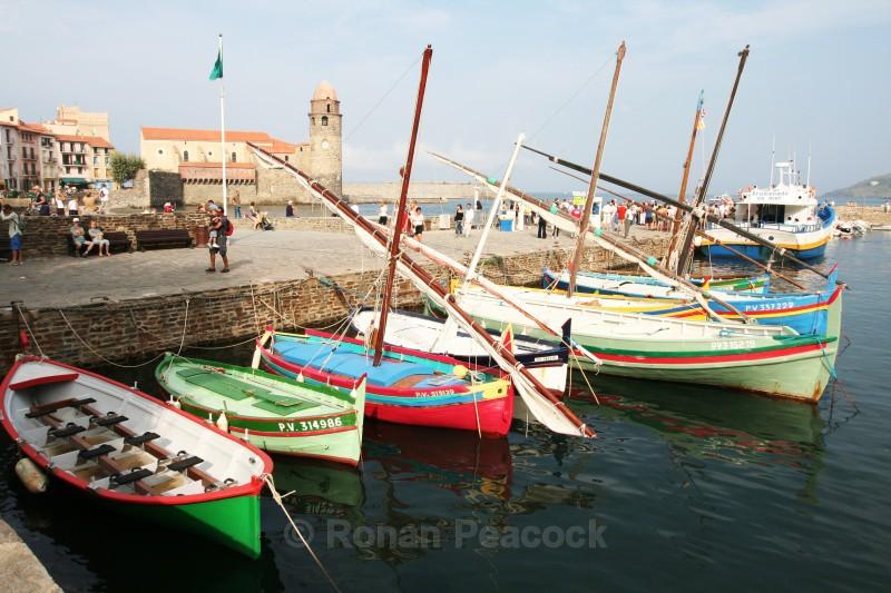 Collioure Fishing Boats - European Landscapes