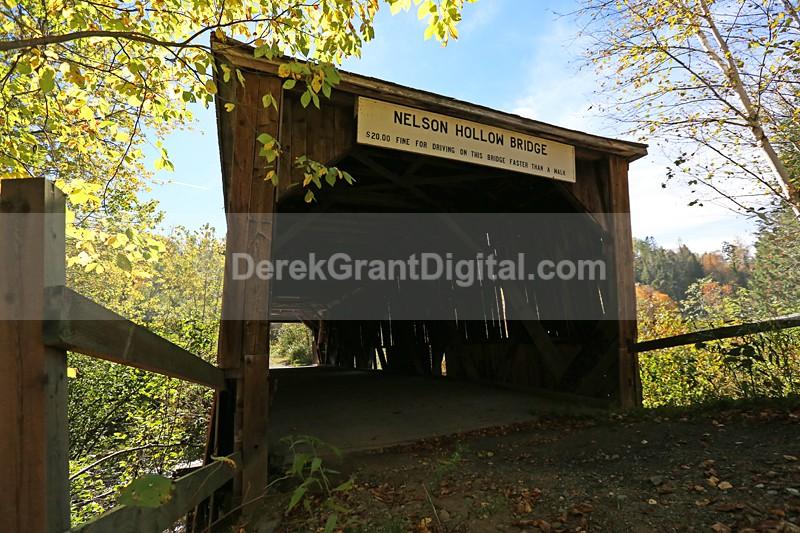 Nelson Hollow Covered Bridge (Millbrook #0.5) - Covered Bridges of New Brunswick