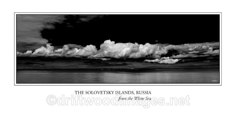 Solovetsky Islands midnight 2 bw gallery - The Solovetsky Islands, Russia