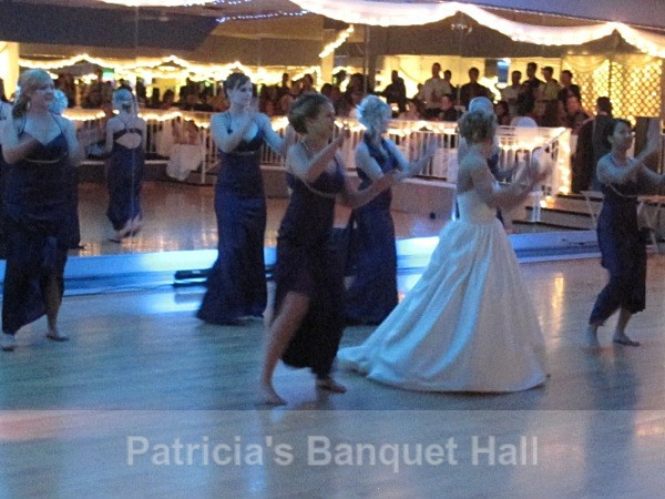 Girls put on a little show.... - Rock Your RECEPTION!